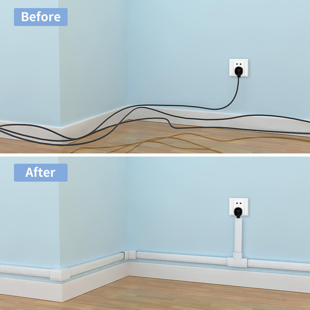 Cord Hider Cable Concealer For Wall Mounted Tv Yecaye
